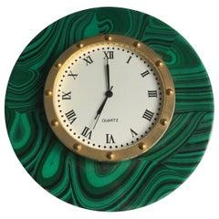Malachite Desk Clock