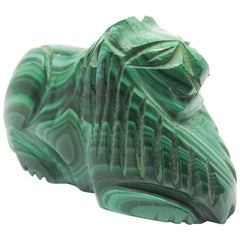 Malachite Lion Small