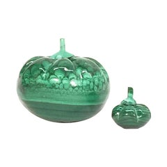 Malachite pumpkins, 1970s