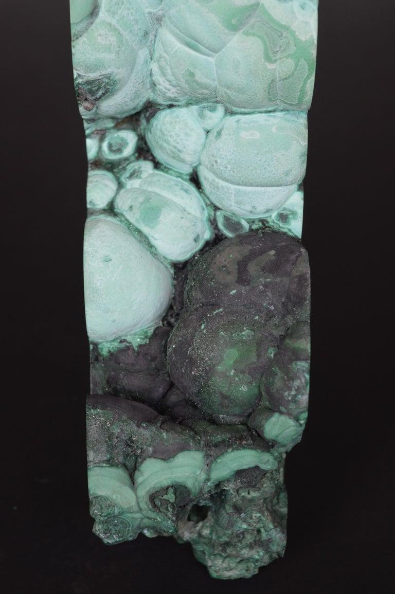 Contemporary Malachite Specimen For Sale