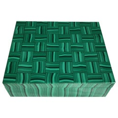 Malachite Tessellated Box