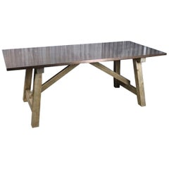 Malaga Zinc and Copper Dining Table Range, 20th Century