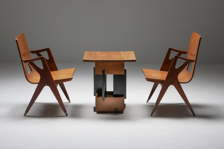 Mid-20th Century Malatesta and Mason Armchair by Ico Parisi For Sale
