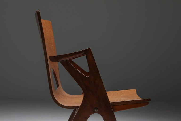 Malatesta and Mason Armchair by Ico Parisi For Sale 1