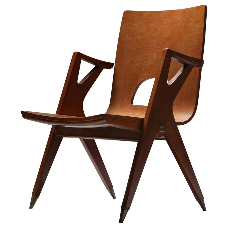 Malatesta and Mason Armchair by Ico Parisi For Sale