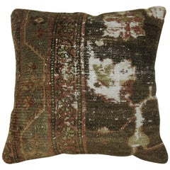 Malayer Distressed Rug Pillow