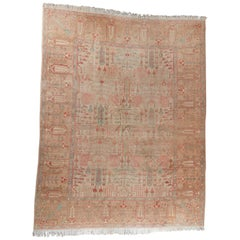 Malayer Style Rug Weeping Willow Tree of Life Design