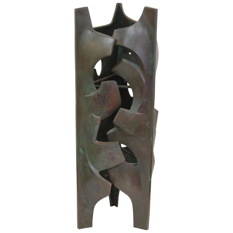 Malcolm Leland Bronze Sculpture