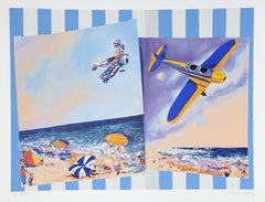 Pictures of the Azores, Pop Art Silkscreen by Malcolm Morley