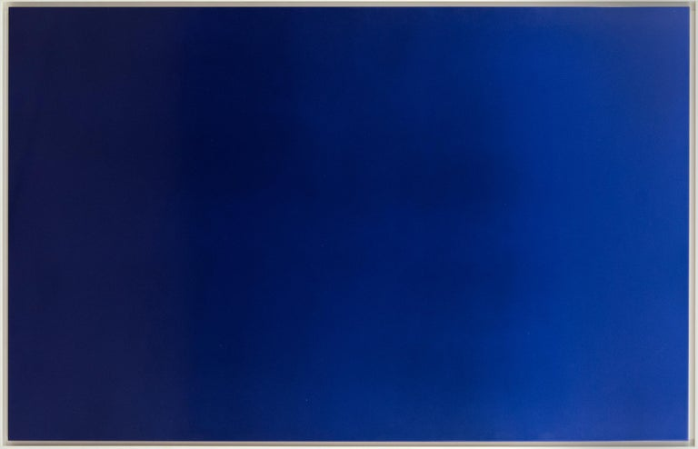 Malcolm Rains Abstract Painting - Euclidian Emptiness No. One