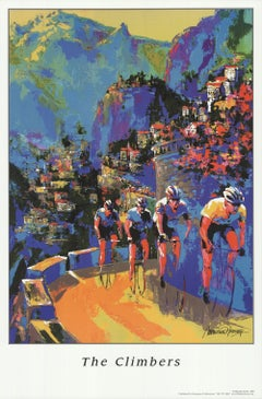 2005 After Malcom Farley 'The Climbers' Contemporary Offset Lithograph