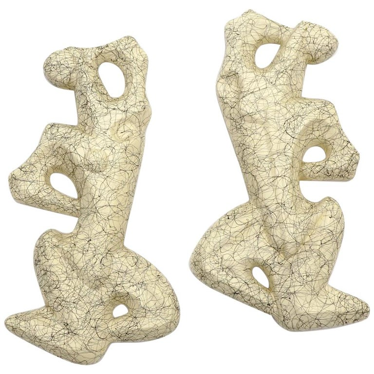 Male Female / Man Woman Frederick Weinberg Wall Sculptures For Sale