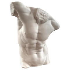 Male Torso Statue, 20th Century