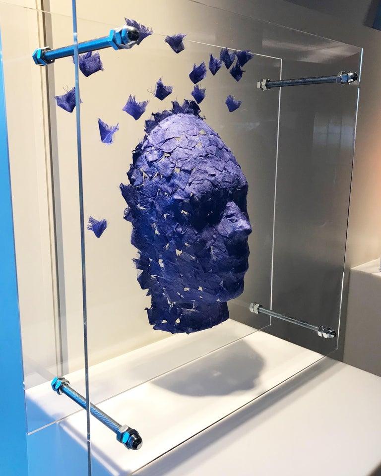 Modern Malgorzata Jablonska Mask 9 Sculpture, 2019 For Sale
