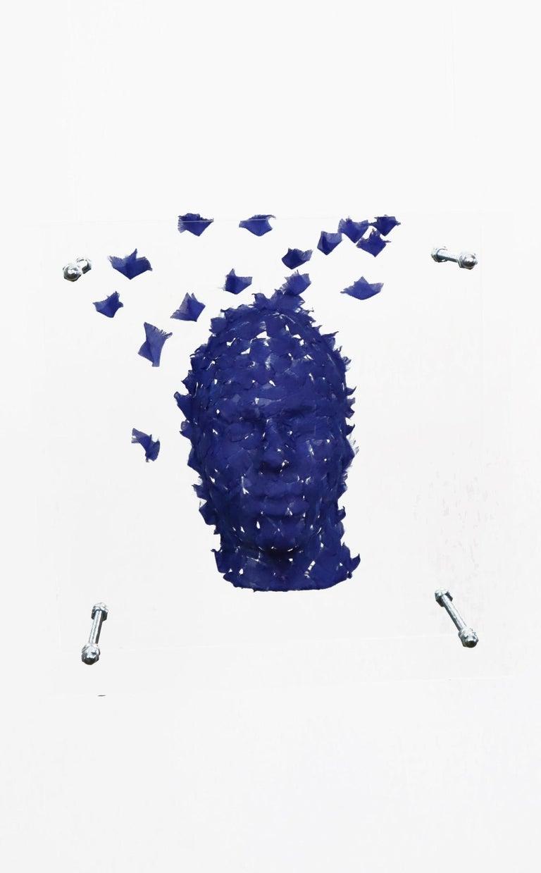 Contemporary Malgorzata Jablonska Mask 9 Sculpture, 2019 For Sale
