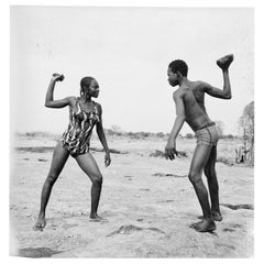 "Malick Sidibe ""Combat des amis avec pierres"", 1976"