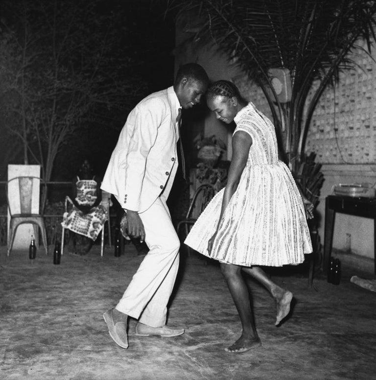Malick Sidibé Black and White Photograph - Nuit de Noël (Happy Club)