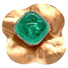 Georg Spreng - Mallow Ring 18K Rosé Gold Blue Green Turquoise Paraiba Tourmaline