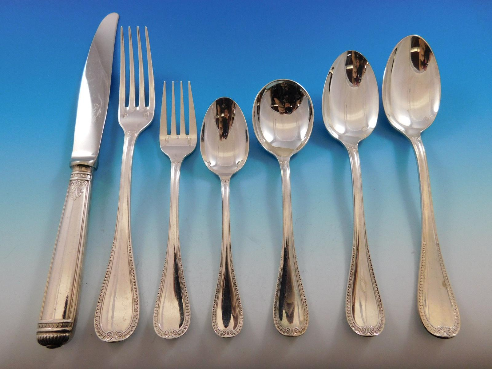 """s SPATOURS by CHRISTOFLE Silverplate 6 1//2/"""" Salad Fork"""