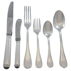 Malmaison by Christofle Sterling Silver Flatware Service 12 Set 72 Pieces Dinner