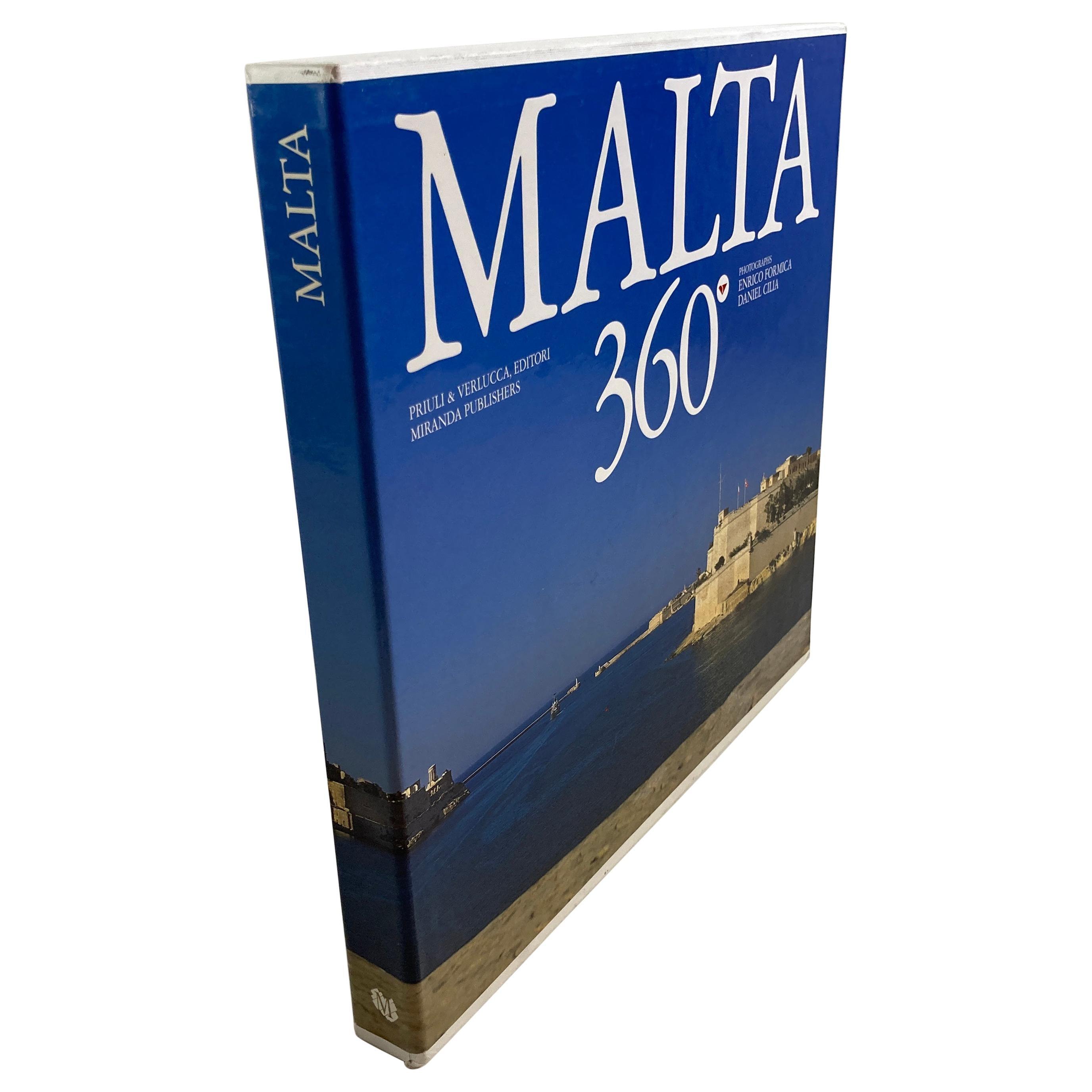 Malta 360° Book by Daniel Cilia and Enrico Formica