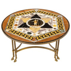 Maltese Specimen Marble Tabletop Attributed to Darmanin of Malta