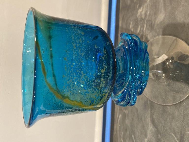Maltese Studio Glass Chalice 3