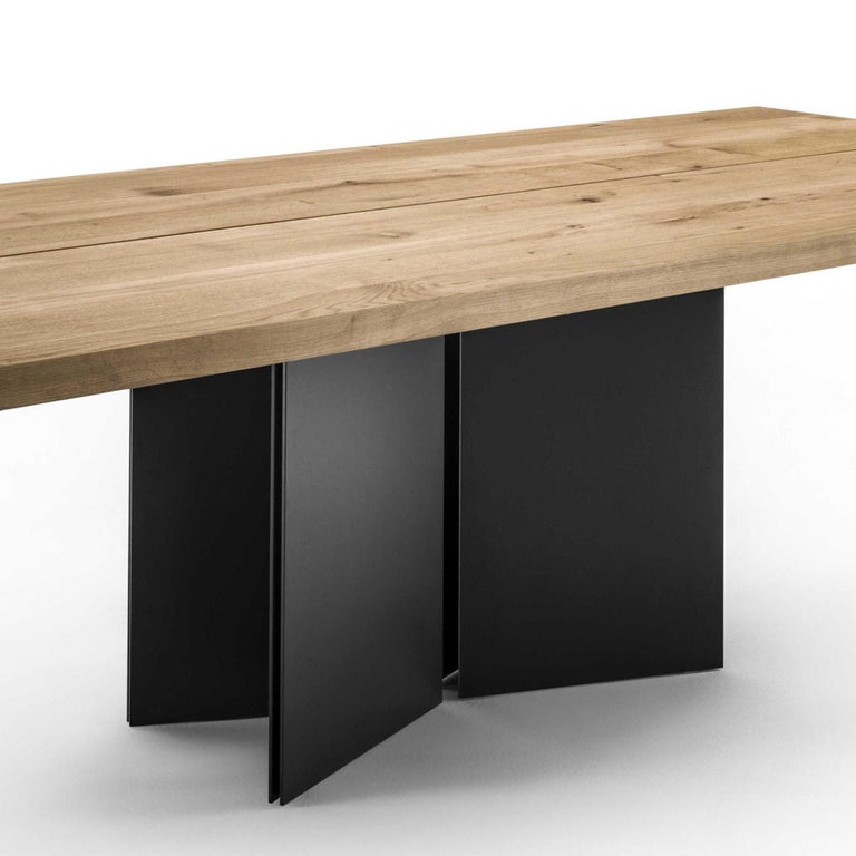 Blackened Mamba Dining Table For Sale