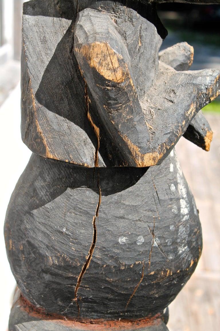 Mambila Large Female Figure African Sculpture For Sale 1