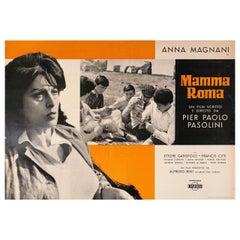 Mamma Roma 1962 Italian Fotobusta Film Poster