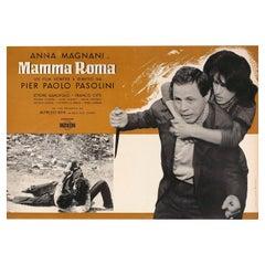 'Mamma Roma' 1962 Italian Fotobusta Film Poster