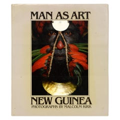 """Man as Art"" by Malcolm Kirk, First Edition"