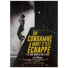 Man Escaped R2010s French Grande Film Poster