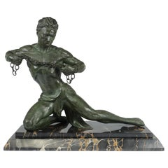 Man in Chains by Roncourt, c1930