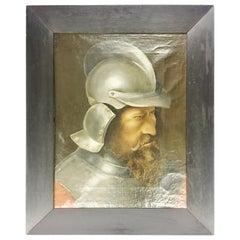 'Man in Steel Helmet' 19th Century