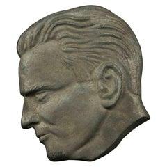 Man Profile, Decorative Object, 1970s