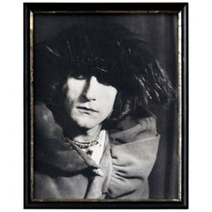 Man Ray Black and White Surrealist Photography of Rrose Sélavy / Marcel Duchamp
