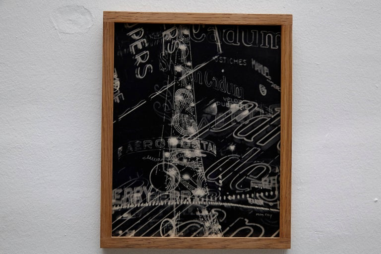 Man Ray Electricite Black and White Rayograph, 1931 In Good Condition For Sale In Barcelona, Barcelona