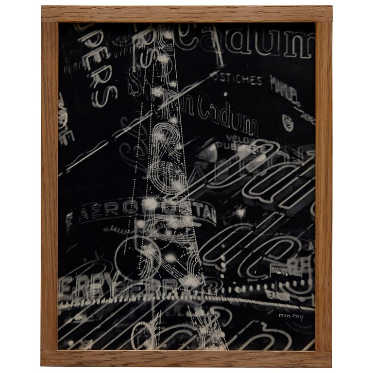 Man Ray Electricite Black and White Rayograph, 1931 For Sale