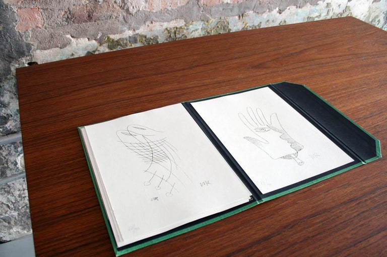 Modern Man Ray, Les Treize Clichés Vierge Portfolio from 1968 for Sergio Tosi For Sale