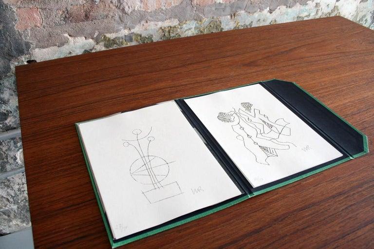 Mid-20th Century Man Ray, Les Treize Clichés Vierge Portfolio from 1968 for Sergio Tosi For Sale