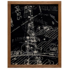 Man Ray Limited Edition Blak and White Heliogravure Electricite Rayograph, 1931
