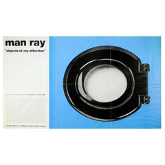 Man Ray Objects of my Affection Exhibition Poster Trompe L'Oeuf MoMA, 1969