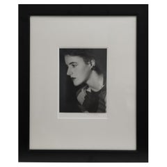 Man Ray Original Signed Vintage Silver Print circa 1935 of Andrea Wildenstein