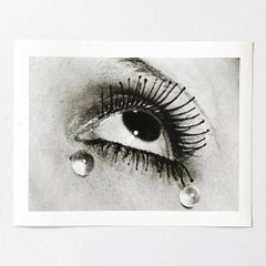 Larmes (Tears), Silver Gelatine Print, Modern Art Photography, Dadaism