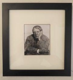 Man Ray's Studio, Pablo Picasso Portrait in 1933