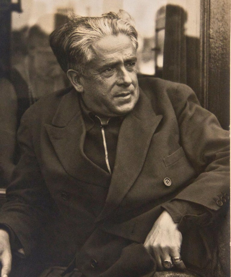 Portrait of Francis Picabia - Original Photograph by Man Ray - 1935 For Sale 2