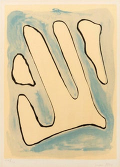 A plate of the origin of the species, Man Ray, 1971, Signed Lithograph