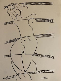 Broken Love - Original Lithograph by Man Ray - 1964