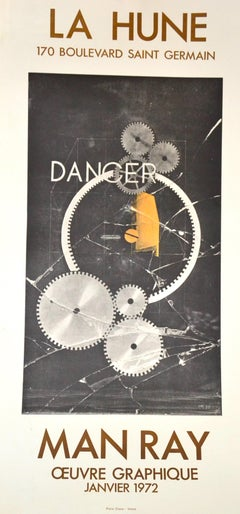 Dancer / Danger - Lithographed Poster After Man Ray - 1972
